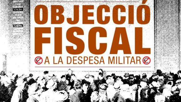 Col·lectius de Sant Cugat promouen l'objecció fiscal a la despesa militar entre la ciutadania