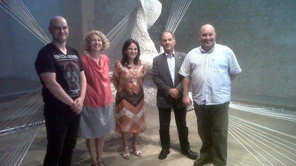 Sant Cugat reivindica l'art manufacturat d'Aurèlia Muñoz