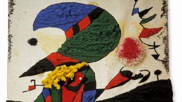 Quatre tapissos de Carles Delclaux estaran exposats a un museu d'Osca