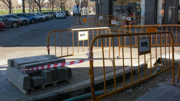 L'Ajuntament efectua set obres de millora de la via pública durant l'agost