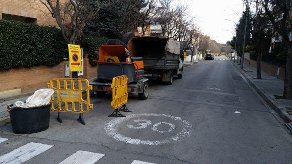 Les obres han començat al carrer de Mariné
