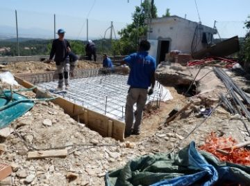 Conesa confirma l'inici de la reactivació del sector de la construcció a la ciutat
