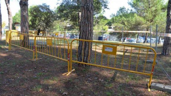 L'EMD enceta la segona fase d'adequació del parc del CAP de Valldoreix