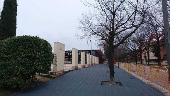 En marxa les obres al passeig de Gaudí per canviar el paviment i millorar l'accessibilitat