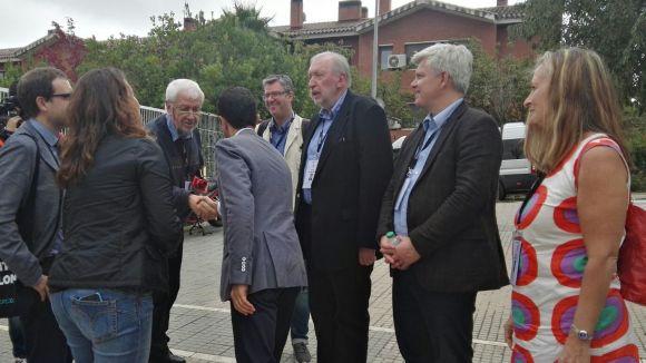 Els observadors han estat rebuts per l'alcaldessa