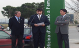 L'alcalde i els responsables de l'area econòmica de l'Ajuntament han inaugurat l'OAE
