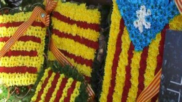 La plaça de Rafael Casanova acollirà les tradicionals ofrenes florals