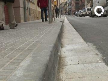 Nous treballs de repavimentació de carrers