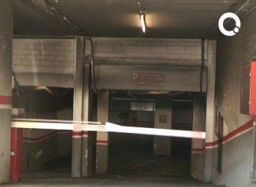 L'incendi al pàrquing de l'avinguda de Lluís Companys va ser provocat