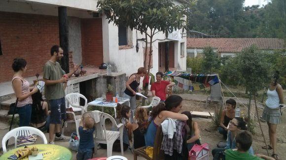 Els okupes de 6 Claus, a favor d'un projecte conjunt amb l'Ajuntament