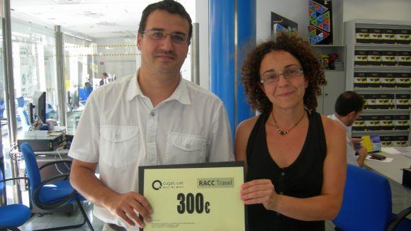 Val de 300 euros per viatjar amb la família