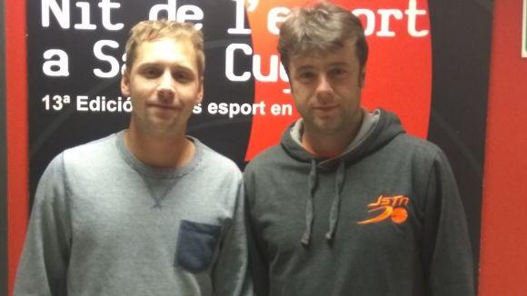 D'esquerra a dreta, Manel Rion i Xaloc Rion