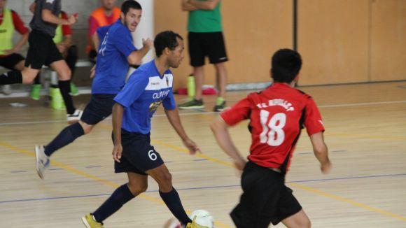 L'Olímpyc aixeca un desavantatge de tres gols i marxa amb un empat de Pallejà