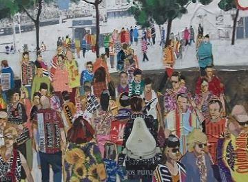 Les escenes colorides de l'exposició 'Troians' a La Galeria