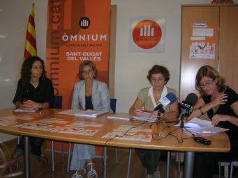 Sant Cugat, la delegació convidada més nombrosa al 'Quedem?' d'Òmnium