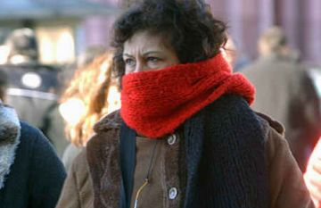 L'onada de fred persisteix i es manté l'alerta durant dilluns