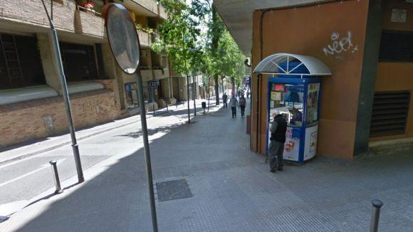 Rosa Chacón és la venedora de la caseta de l'ONCE de Lluís Companys / Foto: Google Maps