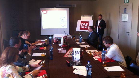 L'empresa One For All presenta les seves novetats a Sant Cugat