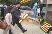 Tots els partits polítics, a excepció del PP, faran la seva ofrena floral davant el monument de Rafael de Casanova