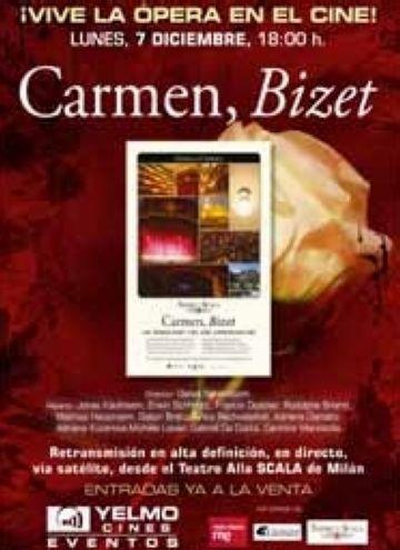 L'òpera 'Carmen', en directe avui al cinema Yelmo des de Milà