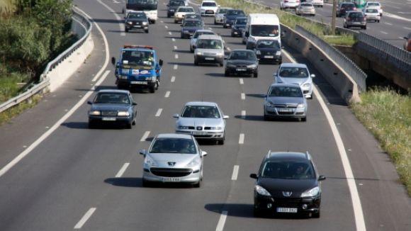 Retorn de 480.000 vehicles a l'àrea metropolitana després de Tots Sants
