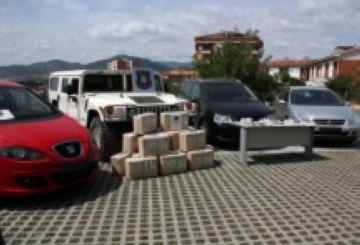 Tres detinguts a Sant Cugat durant una operació per desarticular una xarxa de tràfic de drogues