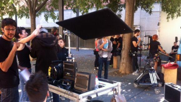 Sant Cugat es converteix en l'escenari del curt 'Operación Preferente'