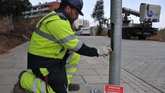 Sant Cugat inverteix 10.000 euros per reduir els robatoris de cablejat elèctric