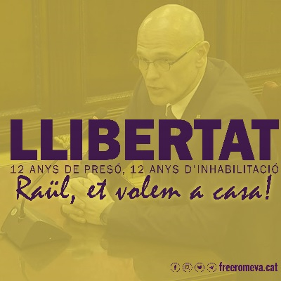 Free Romeva rebutja la sentència del Tribunal Suprem