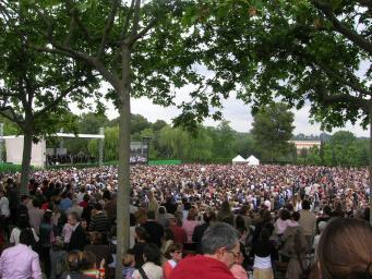 El prelat de l'Opus Dei convoca 12.000 persones al Viaró