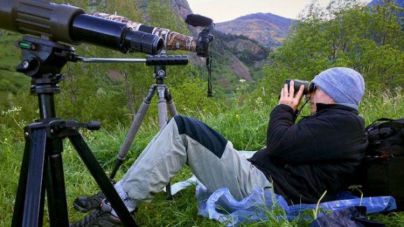 Oriol Alamany és un fotògraf de natura de referència / Foto: Marc Alonso