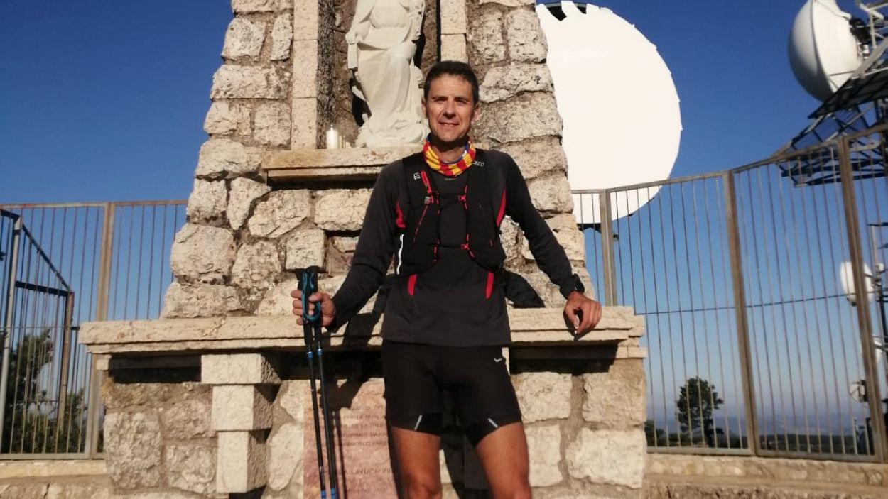 El santcugatenc Oriol Sanz ja ha superat les dues primeres etapes de la seva aventura / Foto: Cedida
