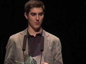 Oriol Abril es converteix en el guanyador més jove dels Premis Ciutat de Sant Cugat