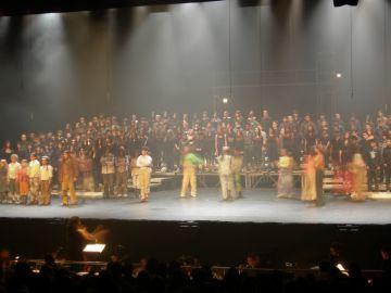 Nens i joves entren al món de l'òpera de la mà de 'L'orquestra dels animals'