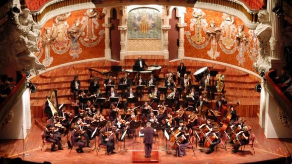 L'Orquestra Simfònica del Vallès acturà al Palau novament. /Font: simfonica.net