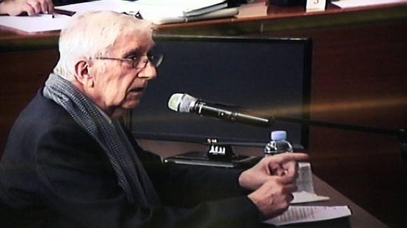 Osàcar, durant la declaració / Foto: ACN