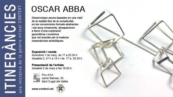 Pou d'Art mostrarà el treball del joier Oscar Abba