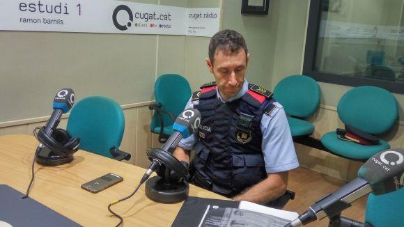 Els robatoris a Sant Cugat es mantenen en una línia estable segons Mossos d'Esquadra