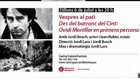 Ovidi Montllor, protagonista de les activitats d'estiu a les biblioteques