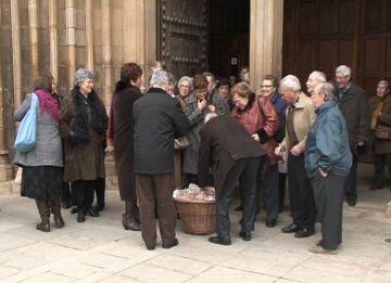300 santcugatencs mantenen la tradició de Sant Antoni Abat