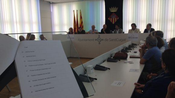 El Pacte Santcugatenc pel Dret a Decidir suma 41 entitats i 84 persones