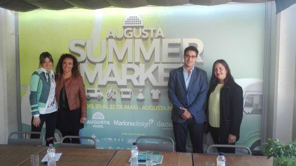 Esport, gastronomia i moda, junts en el 1r mercadet d'estiu a l'Augusta Pàdel