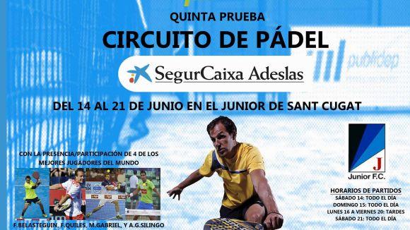 El glamurós Circuit SegurCaixa Adeslas s'atura al Junior aquest cap de setmana