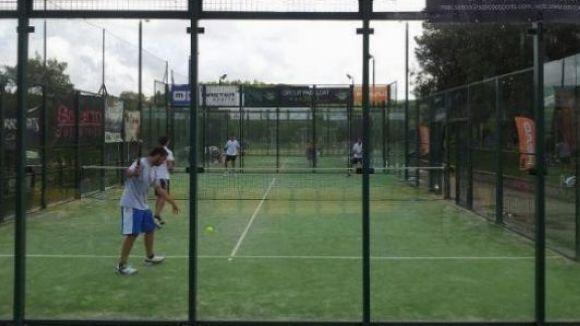 Prop de 220 parells disputen el Super Gran Slam de pàdel al Club Esportiu Valldoreix