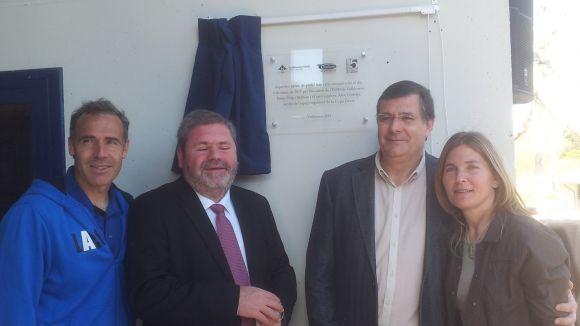 S'inauguren oficialment les quatre pistes de pàdel del Complex de Valldoreix