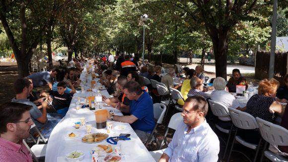 La Festa del Monestir recupera la il·lusió i les places per als veïns