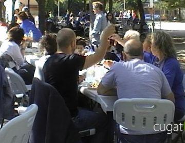 La Festa del Barri del Monestir aplega més d'un miler de persones
