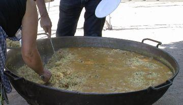 La paella popular ha estat l'acte central d'aquest diumenge