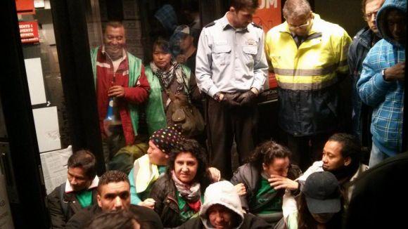 L'ocupació de l'oficina de Torreblanca per membres de la PAH