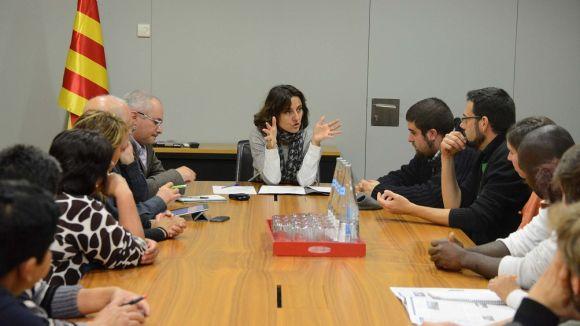 Conesa s'ha reunit aquestes últimes setmanes amb els agents implicats en casos de desnonament. / Font: LocalPres